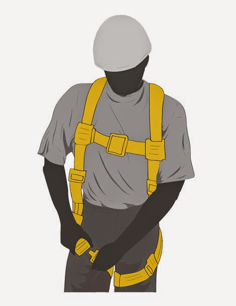 Survey Express Services  How To Put On A Safety Harness