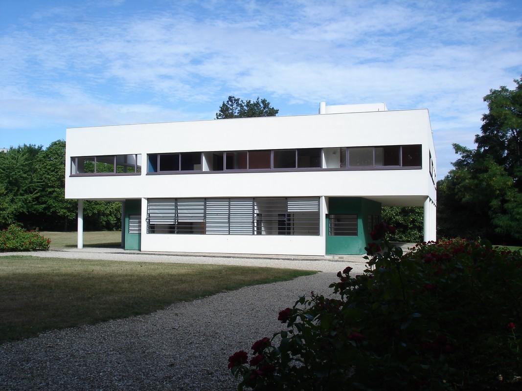 I viaggi di raffaella villa savoye manifesto dell for Architettura a parigi