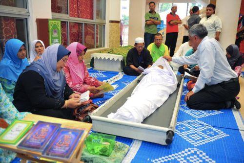 Jenazah Allahyarham Osman Kering Selamat Dikebumikan