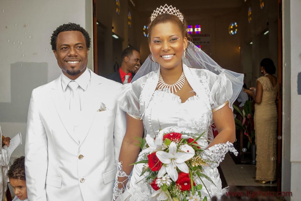 Mariage de Steffy et Manuel: sortie des mariés