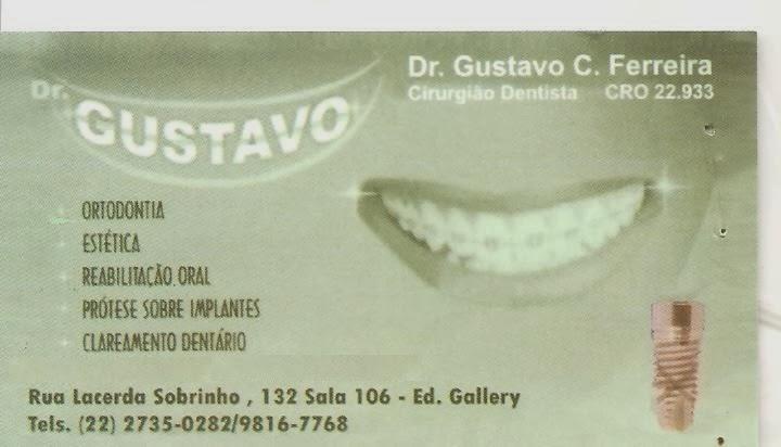 Cirurgião Dentista - Dr. Gustavo C. Ferreira