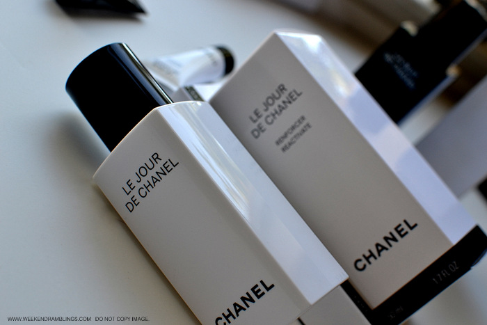 Chanel Resynchronizing Skincare Antiaging Collection Le Jour La Nuit Weekend de Chanel Indian Makeup Beauty Blog Review Ingredients