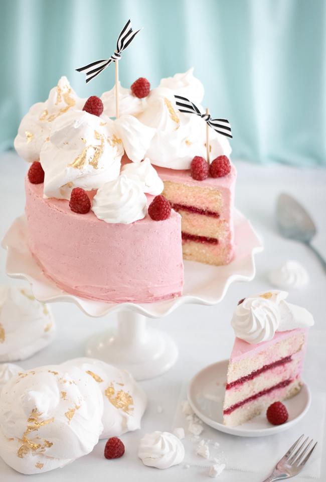 Raspberry Rose Water Layer Cake Sprinkle Bakes Bloglovin