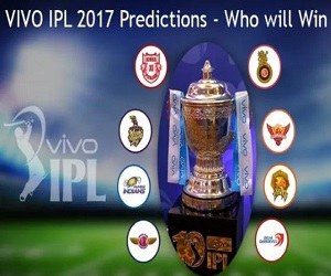IPL 2017 Predictions - Who will win Today's match?