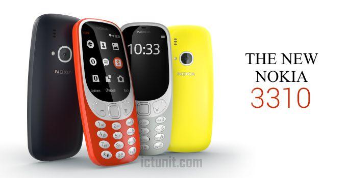 Nokia 3310 2017 Version Full Specs And Price