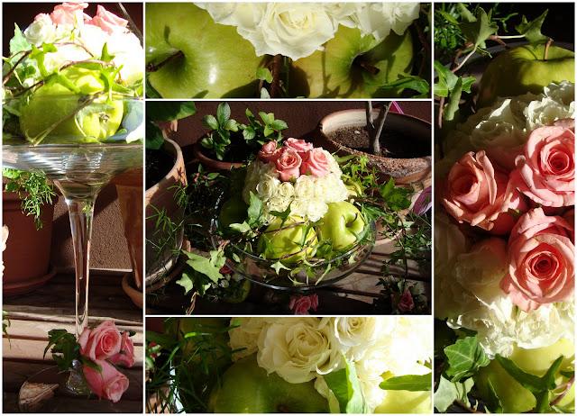 ... decoratrice floreale e prepararmi per fare la madrina di Battesimo
