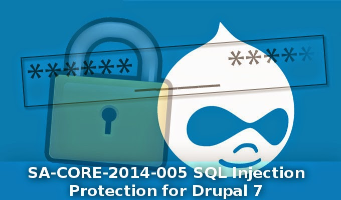 Drupal 7 injection Protection