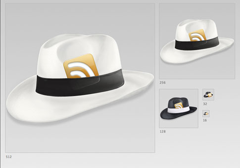 hat rss icon by loafninja 100+ Amazing Free RSS Feed Icons Set Download