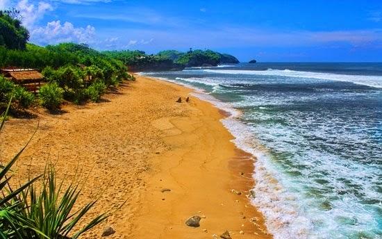 Wisata Pantai Watu Kodok Gunungkidul
