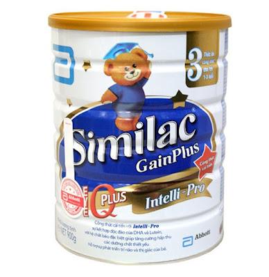 sữa similac gain iq plus 3