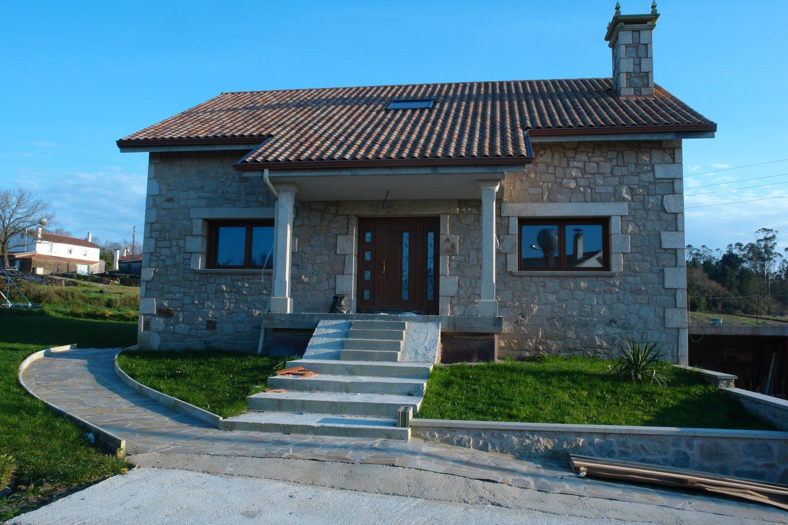 Arquitectura t cnica mir s vivienda unifamiliar en piedra for Arquitectura tecnica ua