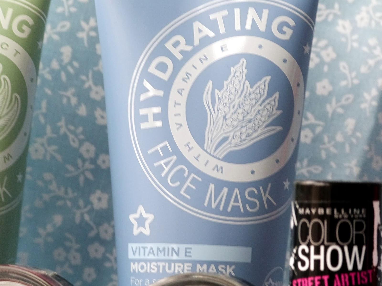 Superdrug Hydrating Vitamin E Moisture Mask