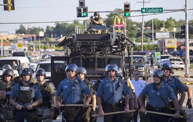 Ferguson, Missouri, August 10, 2013