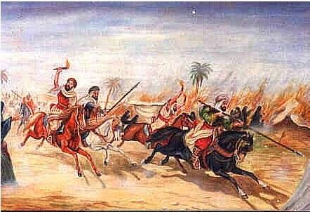 Sebelum Nabi hijrah ke Madinah, Yahudi sesama Yahudi juga berperang