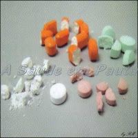 Alterar a forma farmacêutica pode provocar perda de eficácia, intoxicação e contaminação