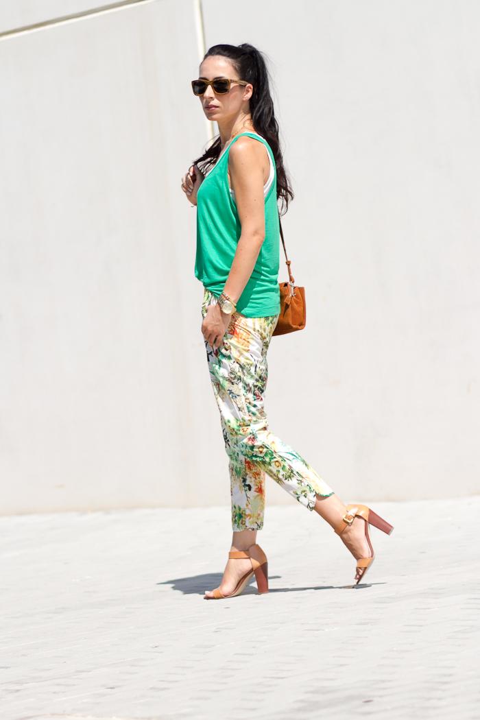 Pantalones  Harem florales