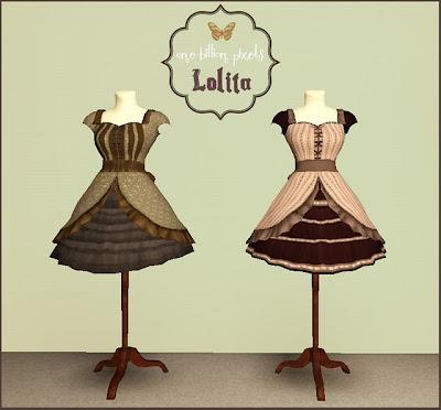 Pocci's Lolita Dress Mannequins Retextures by NewOne OBP+Lolita+Dress+Mannequins+Front