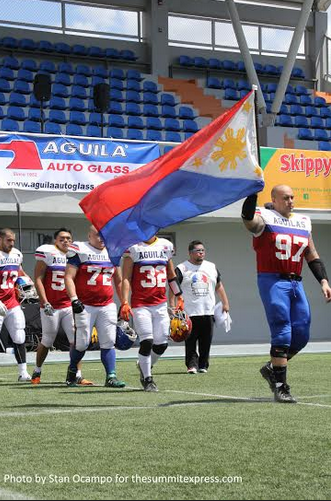 Aguilas walk-off with Pride and Honor for the Flag