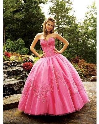 Vestido de 15 años rosa pastel para quinceañeras