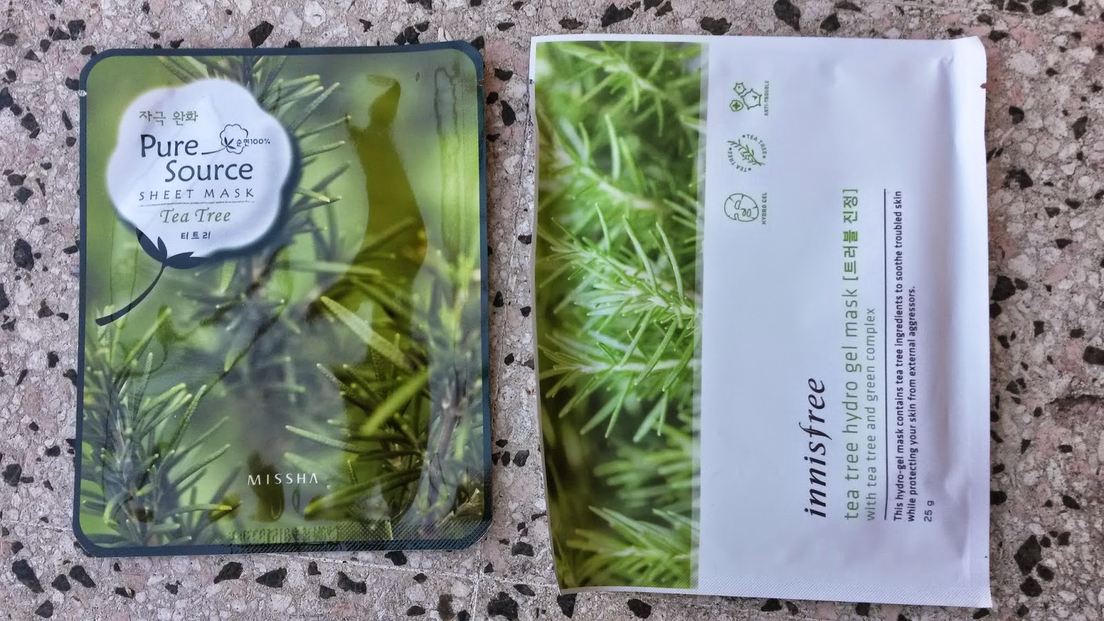 Missha Pure Source Sheet Mask - Tea Tree