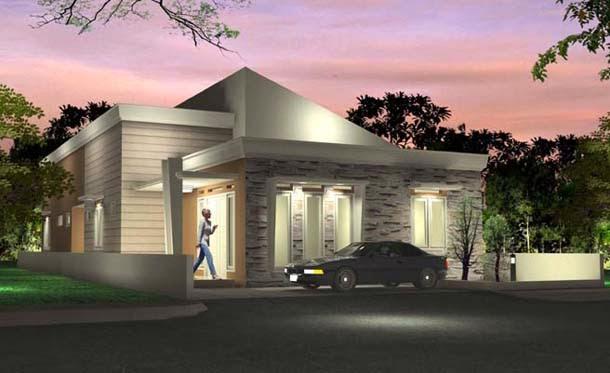 contoh desain rumah minimalis sederhana desain rumah
