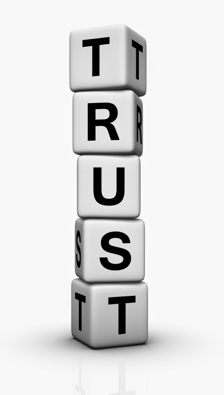 What does it mean practically to trust God?  Thoughts at DTTB.