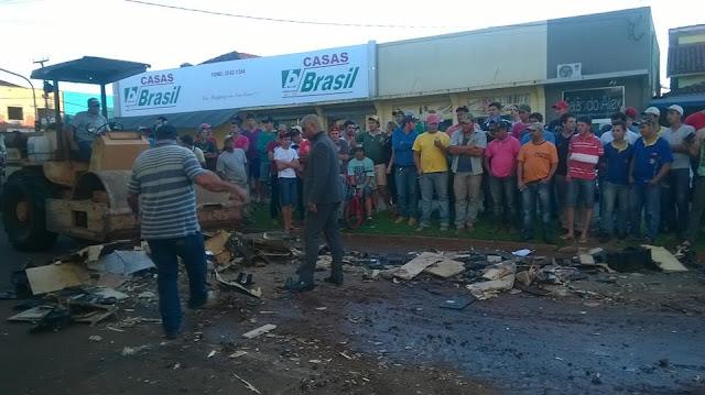 Justiça determina destruição de sons automotivos em Campina da Lagoa