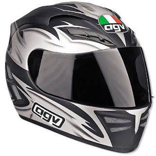 full face helmet dark visor