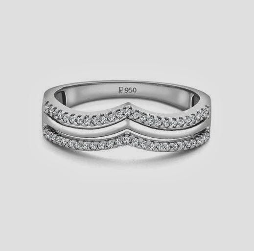 Platinum Crown of Diamonds for a Princess, platinum ring by Suranas Jewelove