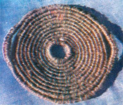 Плетение подставки под горячую посуду в макраме.
