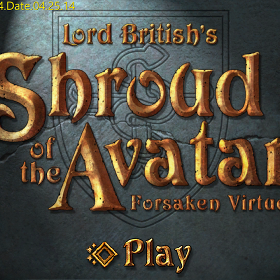 Ultima Online 2 It's Not, It's Shroud Of The Avatar