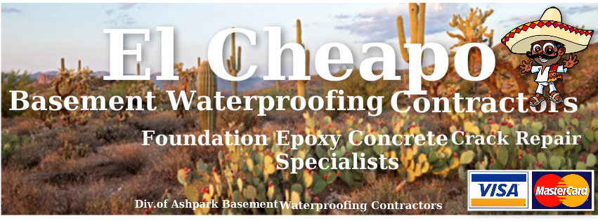 El Cheapo Epoxy Foundation Crack Repair Specialists