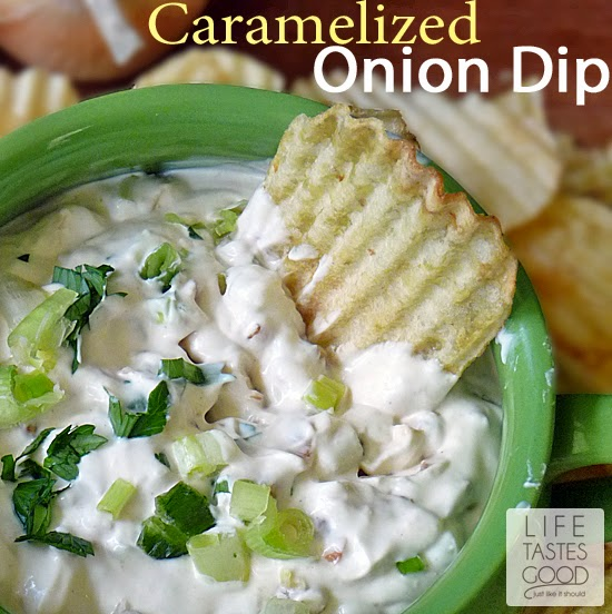 Creamy Caramelized Onion Dip | by Life Tastes Good