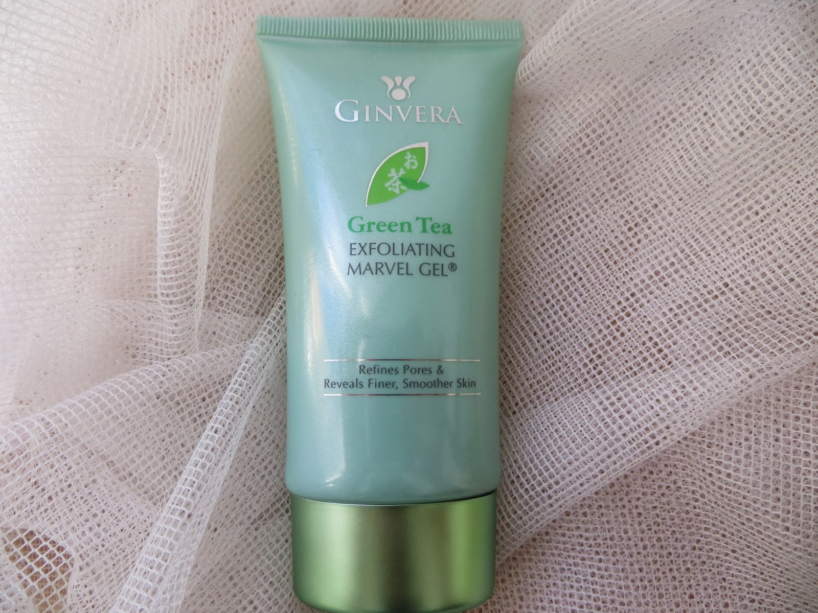 Ginvera, Green, Skincare, Review, Blogger, Marvel, Gel, Exfoliator,