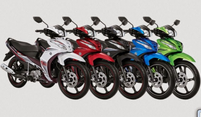 Daftar Harga Motor Yamaha Terbaru 2015 Lengkap