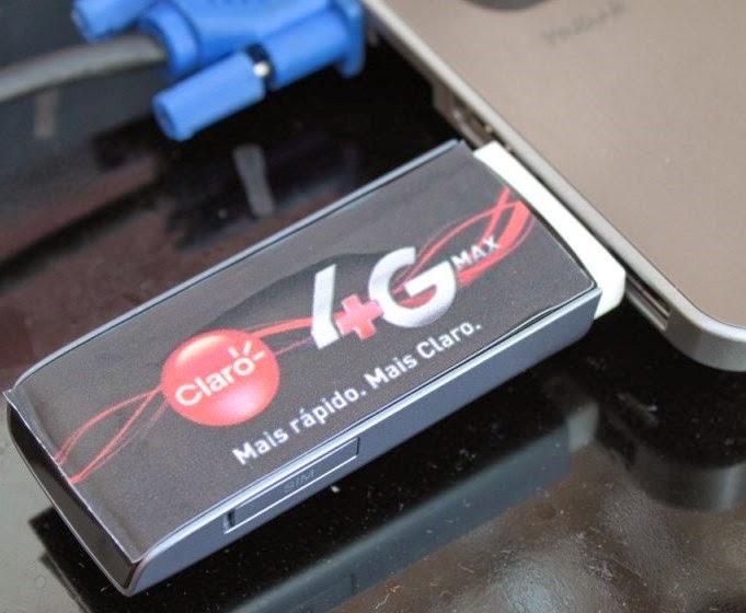 Claro oferecerá acesso a internet 4G para quem tem telefone de cartão, provavelmente ficarão um pouco acima do que é cobrado nos planos 3G, 50 centavos de real para 3G e 99 centavos para HSPA+ por dia de acesso
