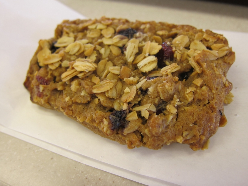 Wendy's Fresh Baked Oatmeal Bar is part of Wendy's currently-shelved ...