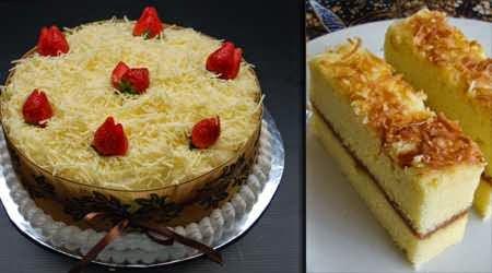 cara membuat cake keju