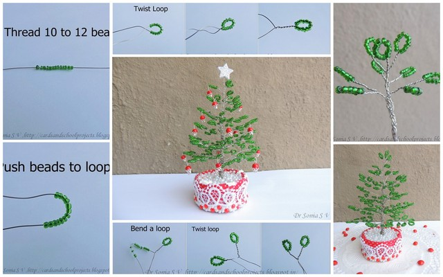 How To Make Twisted Wire Tree Sculpture Tutorials The Beading 2015 ...
