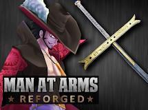 Forjando la espada de Mihawk, Yoru -MAN AT ARMS: REFORGED