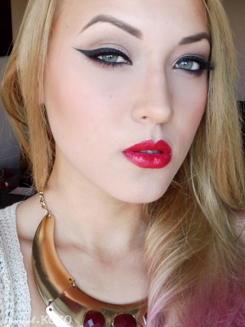 Special Koko : Timeless beauty : Winged eyeliner & red lips