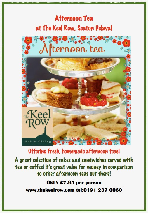 Win Afternoon tea at The Keel Row