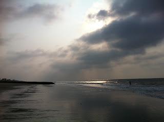 dawn on the carolina coast