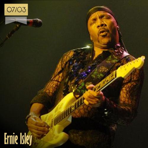 7 de marzo   Ernie Isley - @ErnieIsley   Info + vídeos