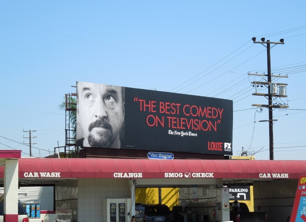 Louie New York Times Emmy 2013 billboard