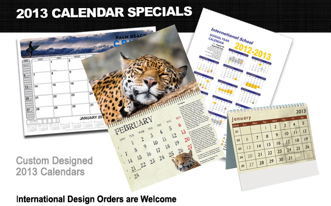 Calendar Design Services : Chameleon media marketing graphic and web design seo