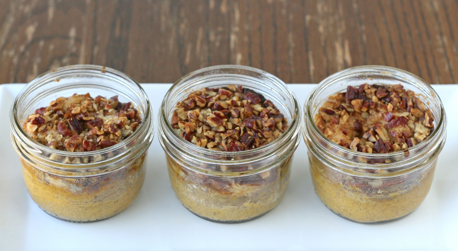 Pumpkin Pecan Dessert {in a jar} – Glorious Treats