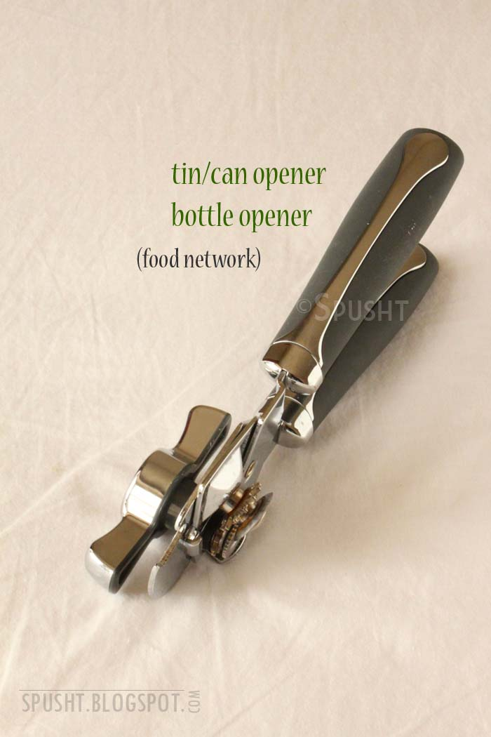 how to open a tin with can opener