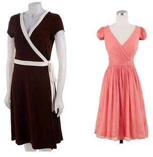 Short Wrap Gowns
