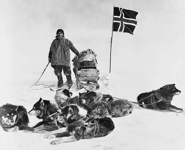 Roald Amundsen South Pole expedition